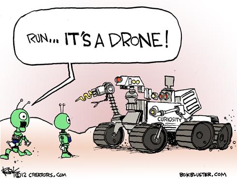 mars rover cartoon - photo #26