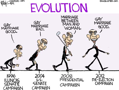 Evolution of gay