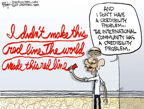 130904-credibility-syria-obama-what-red-line-cartoon